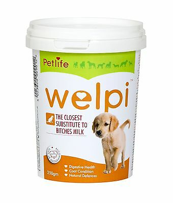 Petlife Welpi, dog milk substitute for puppies and adult convalescent dogs 250gm