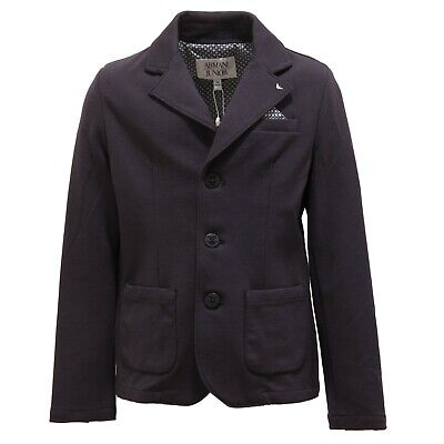 1641T giacca bimbo ARMANI JUNIOR blazer blu jacket kid