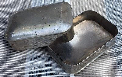 WW1 U.S. Army Soap Container Personal Effects Tin Metal ORIGINAL