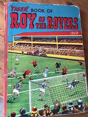 Tiger Book Of Roy Of The Rovers