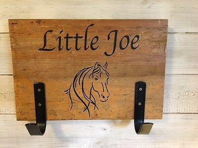 Personalised Stable Sign, Horse Sign, Rustic Horse Sign, Tack Room Sign, Horses