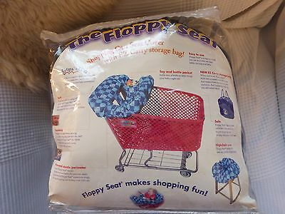 """Floppy Seat"" liner - use in shopping trolleys, restaurant high chairs etc BNWT"