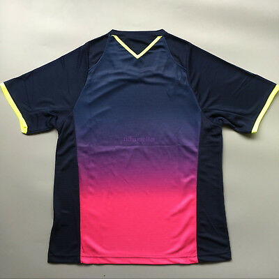 2017 Men's Clothes Outdoor sports Tops tennis/badminton ONLY T shirts