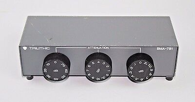 Trilithic BMA-781 (75-OHM) - Bench Mount Variable Attenuator
