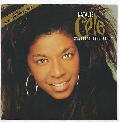 """Natalie Cole - Starting Over Again - 7"""" Single"""