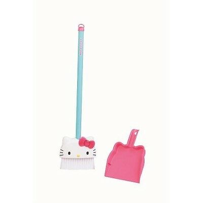 Hello Kitty Broom & Dust Pan. Just Play. Free Shipping