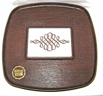 Vintage 1960's Westwood Thermo Serv Tile Trivet Hot Plate Serving Tray