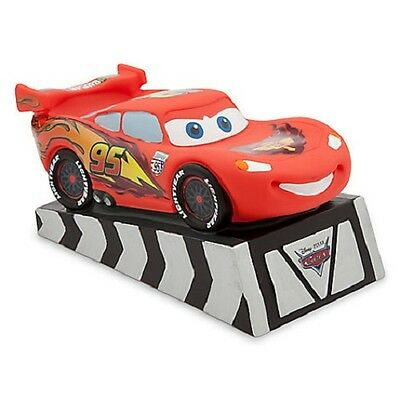 DisneyStore Authentic Cars Lightning McQueen Toy Coin Bank