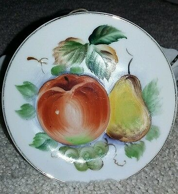 Lefton Small Fruit Plate