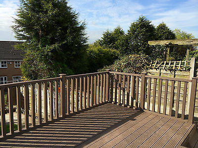 Composite Decking Balustrade Pack in Clarity Autumn 1.8 Linear Metres