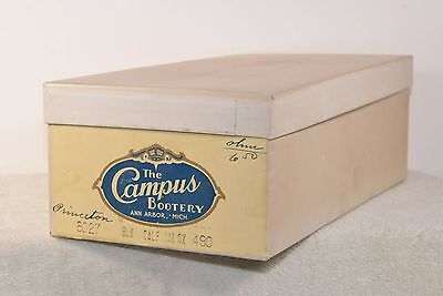Campus Bootery -Ann Arbor -  Very Old Shoe Box!!!