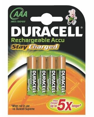 Duracell StayCharged Akku AAA (HR03) 800 mAh Micro Blister 4