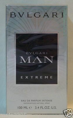 Bulgari Bvlgari MAN Extreme Intense 100 ml Eau de Parfum Spray, Neu / Folie
