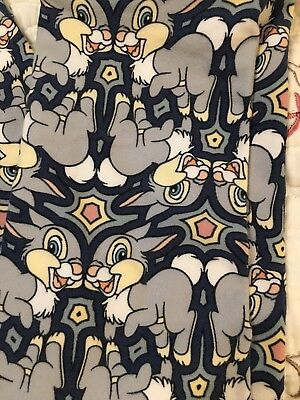 Lularoe S/m Thumper Disney Leggings Unicorn Htf