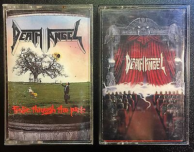 Death Angel Cassette Lot Frolic Through the Park and Act 3 Death Metal