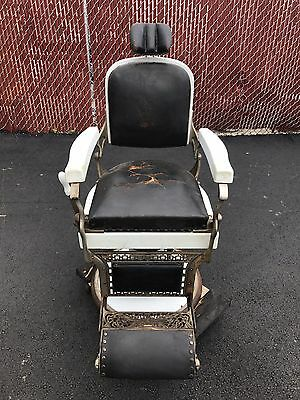 Koken antique barber chair
