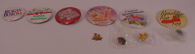 McDonald's Corporate Employee Pinbacks Pins 10K Gold International Pendant