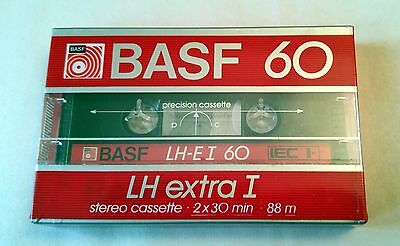 BASF 60 LH Extra I Cassette Tape New Sealed Made in USA