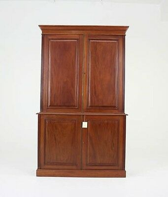 Office Cabinet | Antique Bookcase| Antique Mahogany | Postal Cabinet | B775