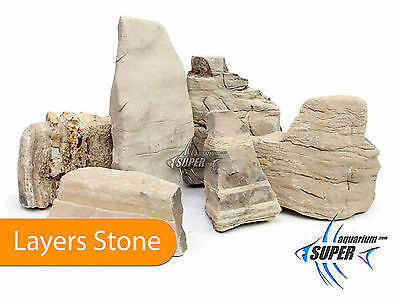 Layers Stone & Rock Natural Aquarium Fish Tank Stone Decoration & Ornament Tank