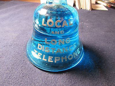 Southwestern Bell Tel Co Glass Paperweight