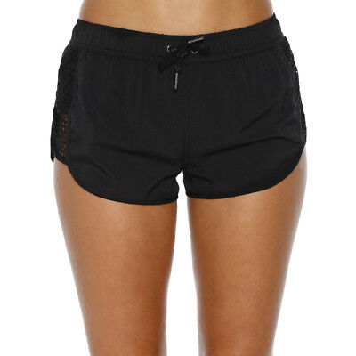 Bounce Activewear Relay Shorts in Black