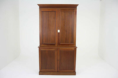 Office Cabinet | Antique Bookcase| Antique Mahogany | Postal Cabinet | B776