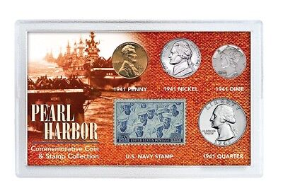 American Coin Treasures Pearl Harbour Coin and Stamp Collection