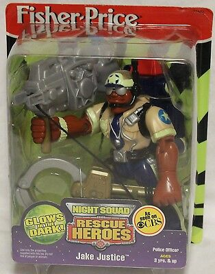 Fisher Price Rescue Heroes Night Squad Jake Justice. Best Price