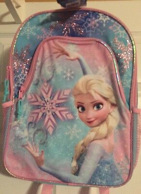 Disney Frozen Backpack School Bag Elsa New With Tags