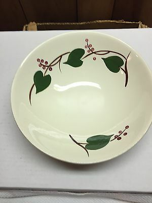 Blue Ridge Southern Potteries Bowls Hand Painted 8 3/4 IN.