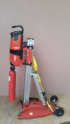 "Hilti DD200 Diamond Core Coring Bore Drill Tool with 4"" Bit & Stand Base"