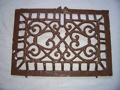 Vintage Cast Iron Heating Vent Grate Cover