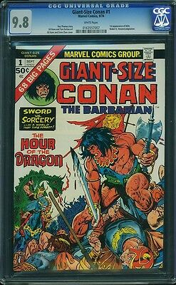 GIANT-SIZE CONAN #1 CGC 9.8 White Pages -- 1st Appearance: Belit