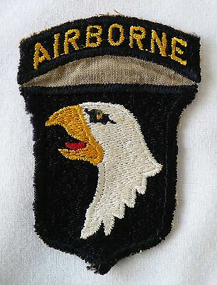 Rare WW2 US Army 101st Airborne Division german made gold eye version no glow