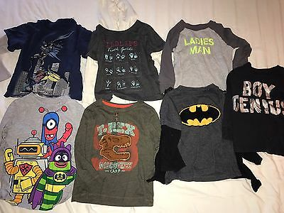 Lot Of Used Boys Toddler Long Sleeve Shirts Size 2T Old Navy Gap Carter's
