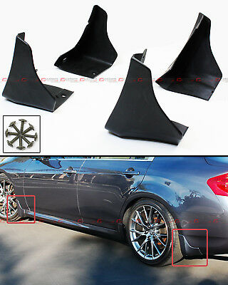 For 2008-14 Infiniti G35 G25 G37 Q40 Sedan Front & Rear Splash Mud Flaps Guards