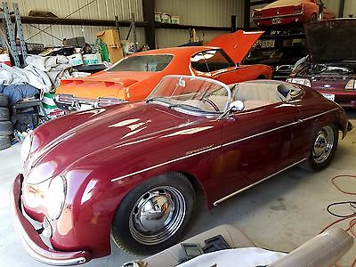 1957 Replica/Kit Makes 356 Speedster  1957 Porsche 356 Speedster 1600 Dual Carb Great Condition. This is one owner car