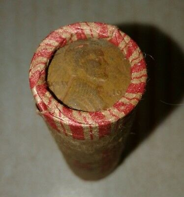 unsearched wheat penny roll 192? D and 1930 Wheats on the end