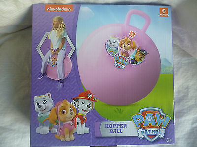 PAW PATROL - SKYE, EVEREST & CHASE Hopper Ball Sit & Bounce Bouncing Ball BNIBox