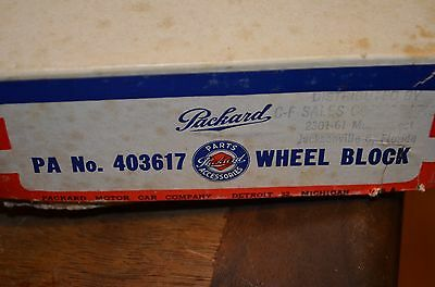 Packard 1933-1953  NOS OEM Wheel Block 403617