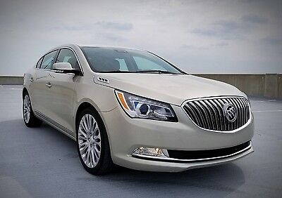 2014 Buick Lacrosse Premium Sedan 4-Door 2014 Buick LaCrosse Premium Sedan 4-Door 3.6L