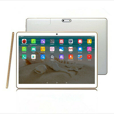 New 4G LTE 10.1inch Tablet Eight core ROM 64GB 2560X1600 HD Tablet PC white,gold