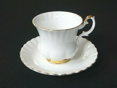 Beautiful Royal Albert Val D Or Coffee Cup And Saucer