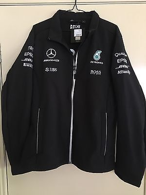 Mercedes benz f1 team jacket aud picclick au for Mercedes benz jacket
