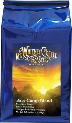 Mt. Whitney Coffee Roasters: 2.3kg. Base Camp Blend Whole Bean Coffee