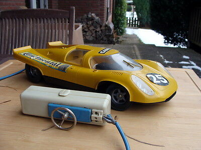 GAMA 4921 - Porsche 917 Fernlenkauto Battery 1960er - Top RAR !