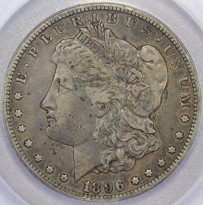 1896 S Morgan Silver Dollar ANACS VF30 Details Scratched *DoubleJCoins* - 586A30