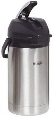 Bunn 32130.0000 3.0L Lever-Action SS Lined Airpot. Free Shipping