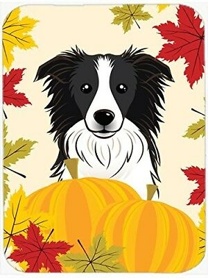 "Caroline's Treasures BB2047LCB ""Border Collie Thanksgiving"" Glass Cutting"